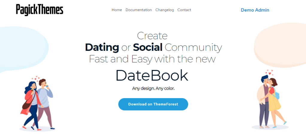 datebook bringing people together with tons of lovely features