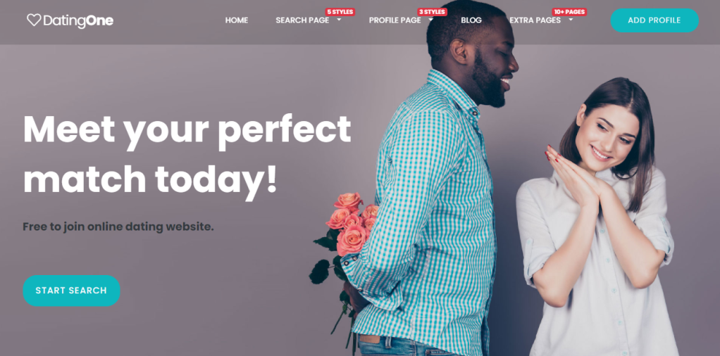 dating theme a good choice for your date making website